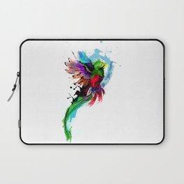 Watercolor Quetzal  Laptop Sleeve