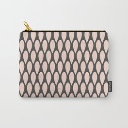 Abstract Rain Pattern Carry-All Pouch