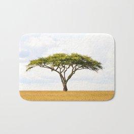 Tree Of Life - Acacia Vachellia Tortilis - Serengeti Plains 5101 Bath Mat