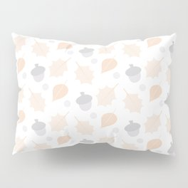 Autumn Acorn Pattern Pillow Sham