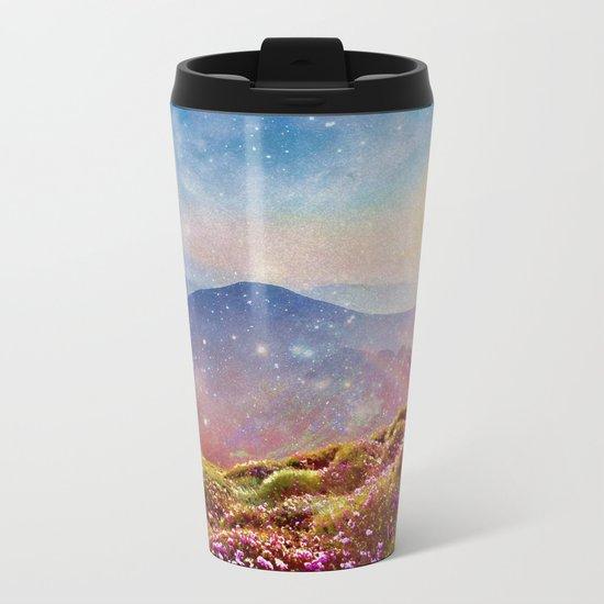 Summer mountains Metal Travel Mug