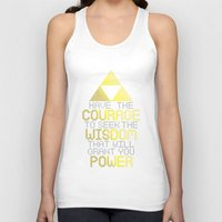 motivational Tank Tops featuring Triforce Motivational by JesseThomas