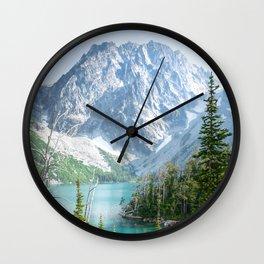 Lake Colchuck Wall Clock