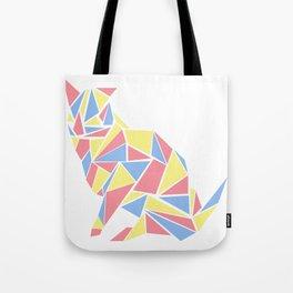 Mosaic Cat Tote Bag