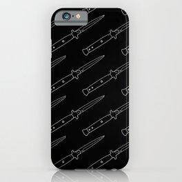 Knives Rain iPhone Case