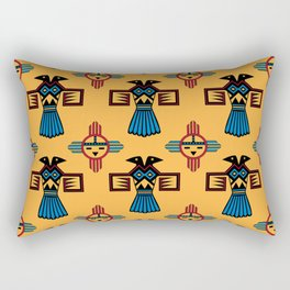 Azteca Art Rectangular Pillow