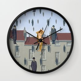 Venus Among the Raining Men Wall Clock