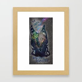 Another Disaster Framed Art Print
