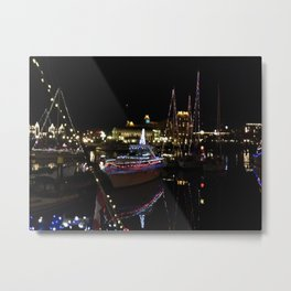 Blinky boats Metal Print