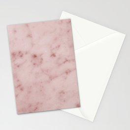 Profundo pink marble Stationery Cards