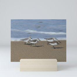 wave runners Mini Art Print