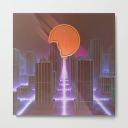 Synthetic Dreams Metal Print