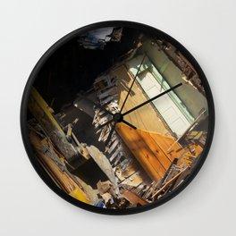 Destruction Wall Clock