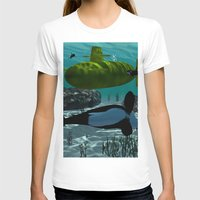 yellow submarine T-shirts featuring Submarine by nicky2342
