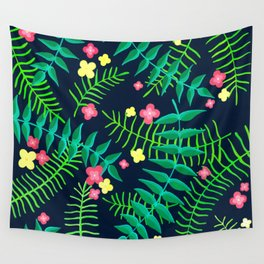 Natures Confetti Leaves  Wall Tapestry