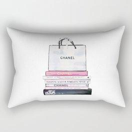 purse and book Rectangular Pillow