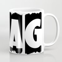 swag Mugs featuring SWAG by Robleedesigns
