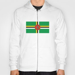 Dominica country flag Hoody