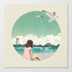 Calm ocean Canvas Print