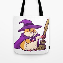 witch hamster Tote Bag