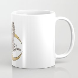 Owl + Lavender Coffee Mug