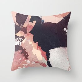 That blush is cracked Throw Pillow