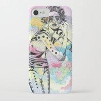 aquarius iPhone & iPod Cases featuring Aquarius by Heaven7