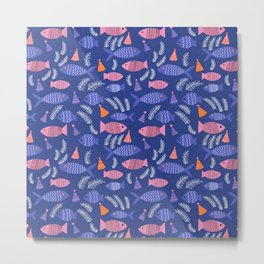 School of Fish Metal Print