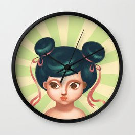 JAPAN GIRL Wall Clock