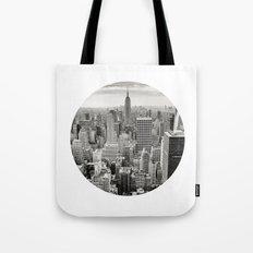NY Cityscape Tote Bag