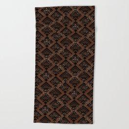 Tribal Pattern 1 Beach Towel