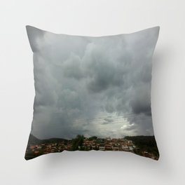 Cleft Throw Pillow
