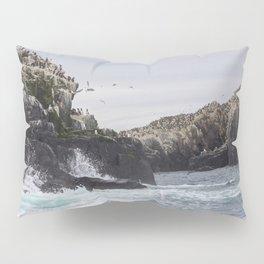The Farne Islands Cliffs Pillow Sham