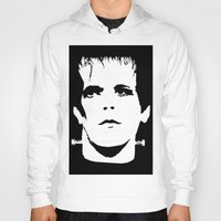 lou reed Hoodies featuring Lou Reed Reanimated  by Spirit Monster