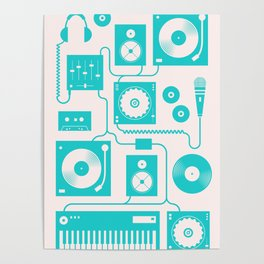 Electronica Poster