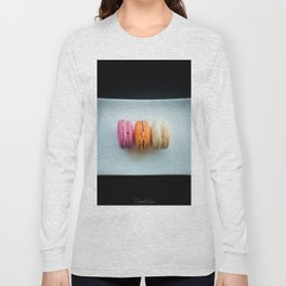 The Art of Food Macarons Long Sleeve T-shirt