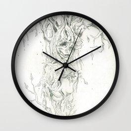 Earth to Bone Wall Clock