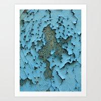 big bang Art Prints featuring Big Bang by aeolia