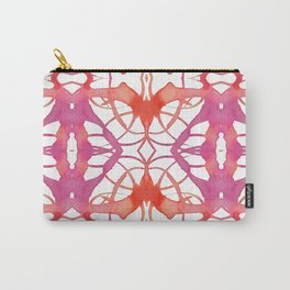 Pinky Orange Love Carry-All Pouch