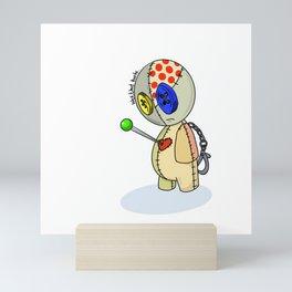 Love hurts. Mini Art Print