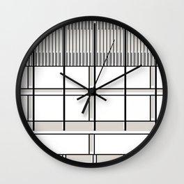 Banco Central de Venezuela -Detail- Wall Clock
