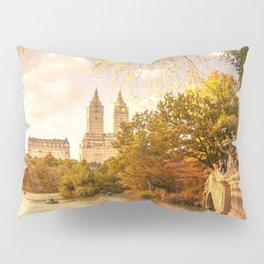 New York City Autumn Landscape Pillow Sham