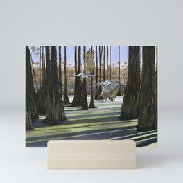 Swamp Chase Mini Art Print