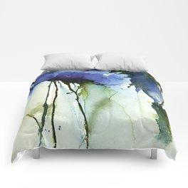 Blue passion Comforters