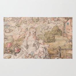 Albrecht Durer - Mary Among A Multitude Of Animals 1503 Rug