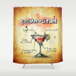 Cosmopolitan Shower Curtain