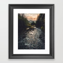 The Sandy River II Framed Art Print