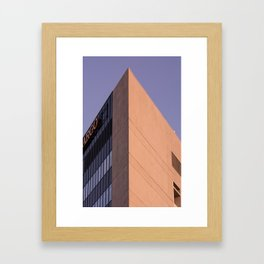 Great Pyramid of Wall St. Framed Art Print