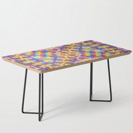 Rainbow Butterfly Geometrica Coffee Table