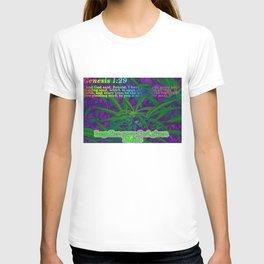 Genesis1:29 Legalize it T-shirt